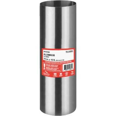 NorWesco 14 In. x 10 Ft. Mill Aluminum Roll Valley Flashing