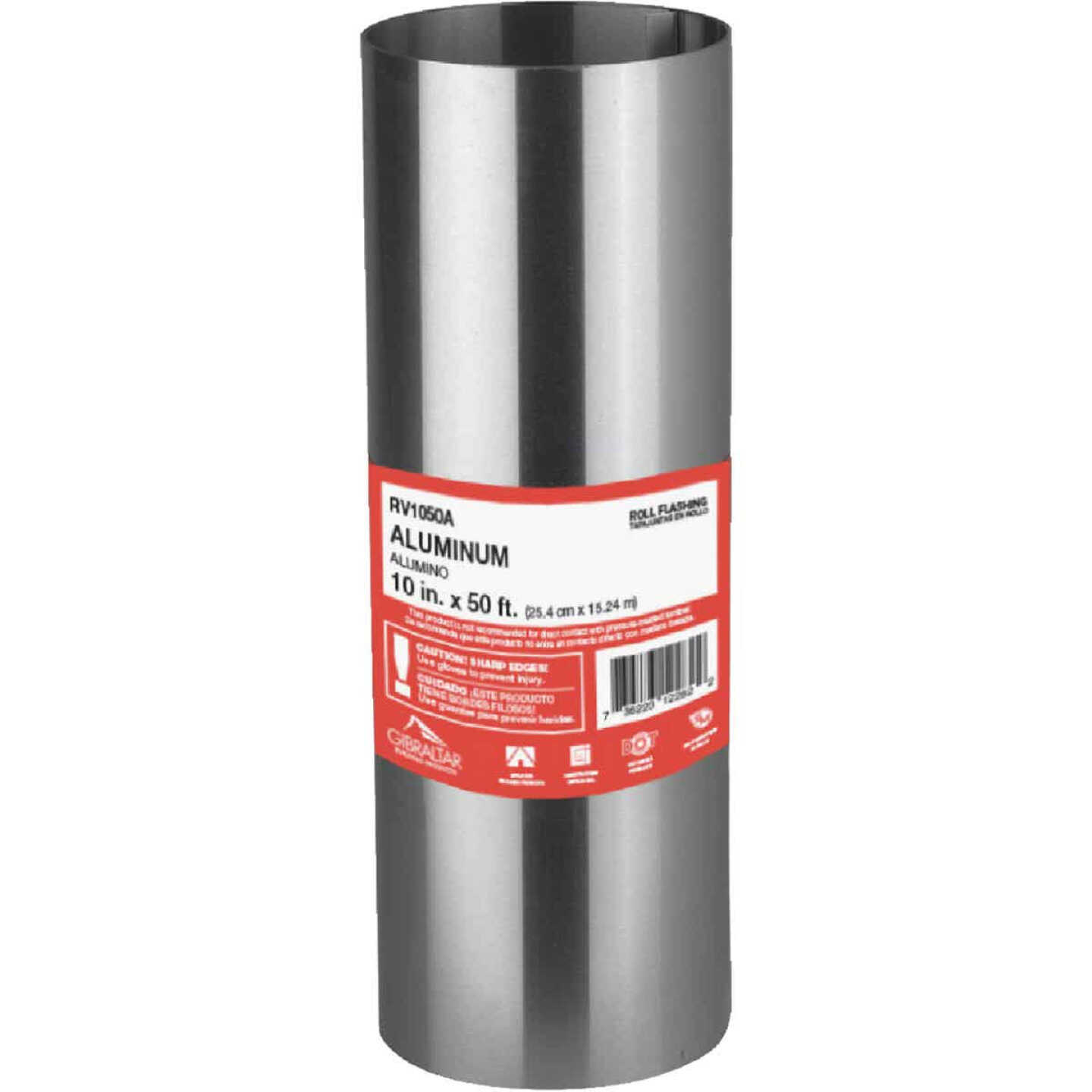NorWesco 10 In. x 50 Ft. Mill Aluminum Roll Valley Flashing Image 1