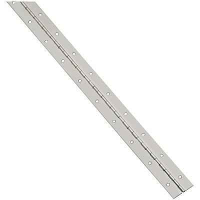 National Steel 1-1/16 In. x 30 In. Nickel Continuous Hinge