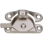 National Nickel 7/8 In. Crescent Sash Lock Image 1