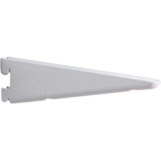 Knape & Vogt 182 Series 10-1/2 In. Titanium Steel Heavy-Duty Double-Slot Shelf Bracket