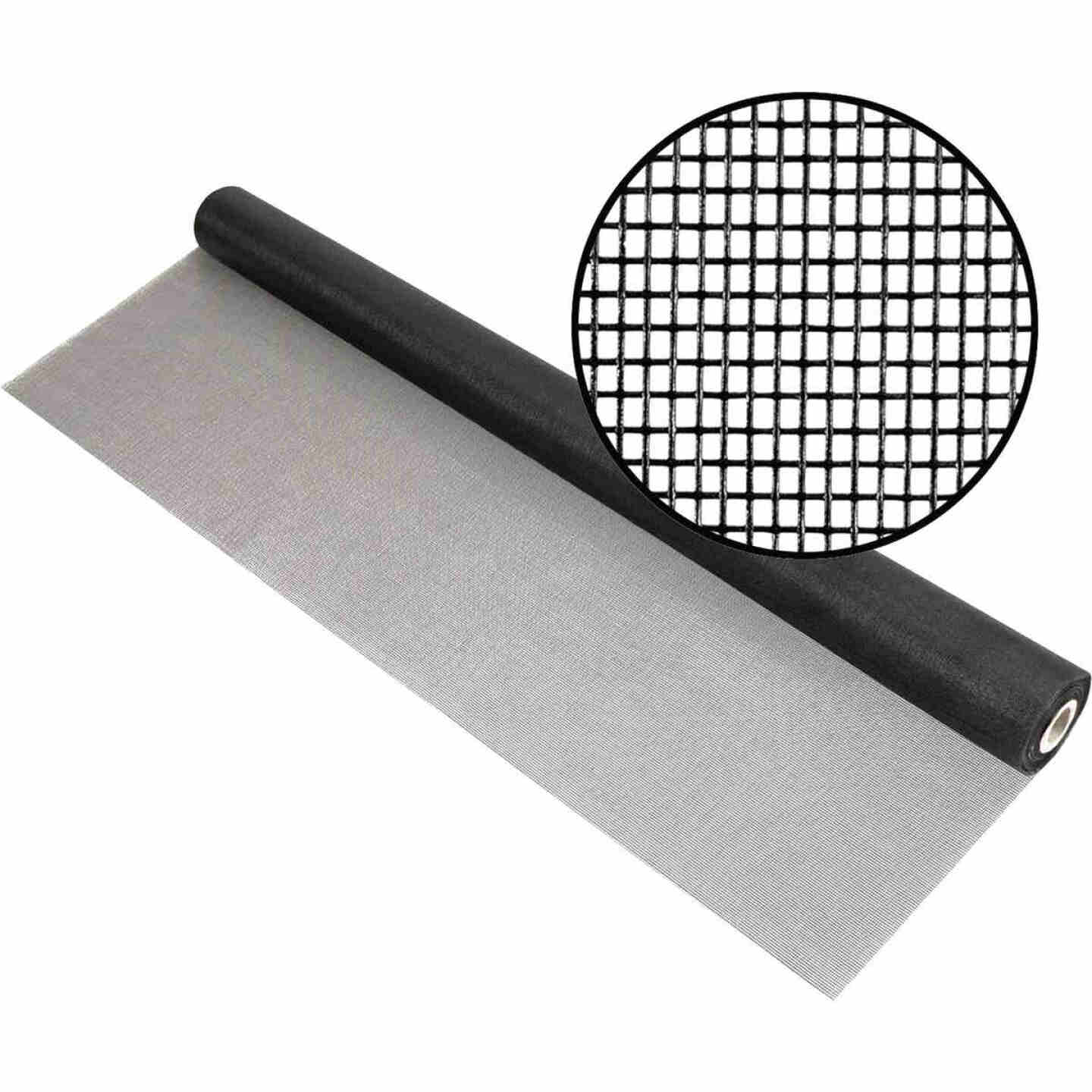 Phifer 36 In. x 100 Ft. Charcoal Fiberglass Mesh Screen Cloth Image 1