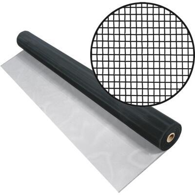 Phifer 60 In. x 100 Ft. Black Aluminum Screen