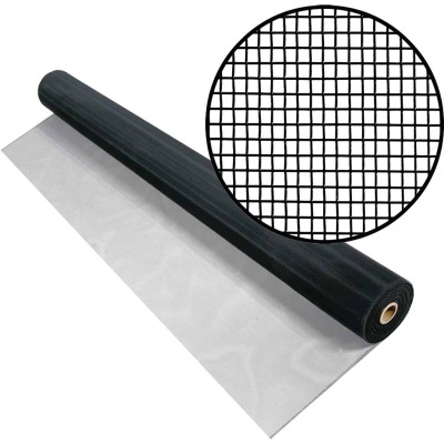 Phifer 36 In. x 100 Ft. Charcoal Aluminum Screen