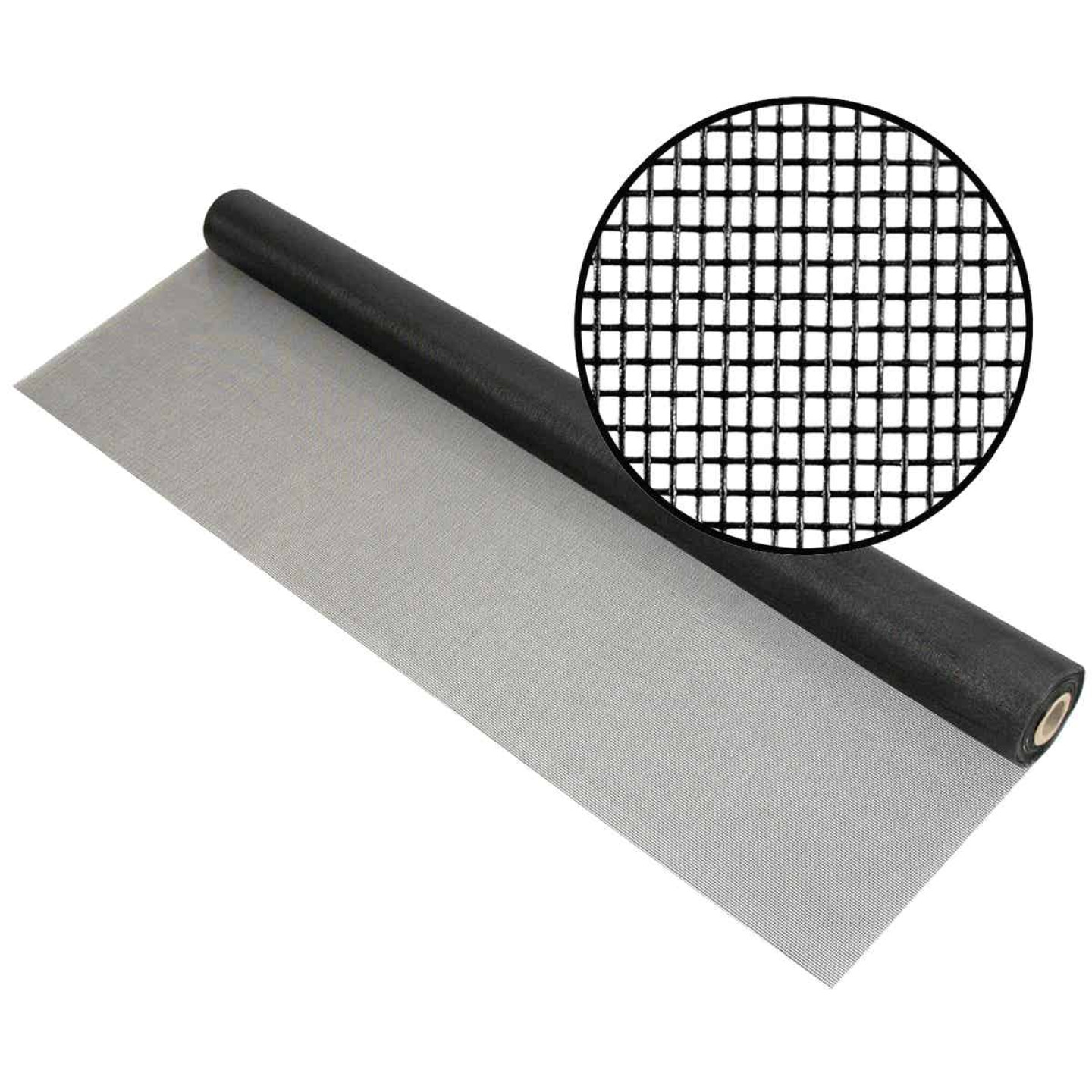 Phifer 72 In. x 100 Ft. Charcoal Fiberglass Pool Screen Image 1