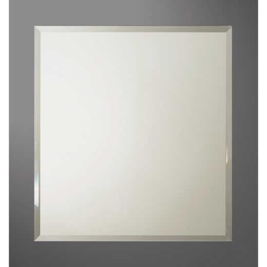 Bertch Graphite 28 In. W x 30 In. H Framed Vanity Mirror