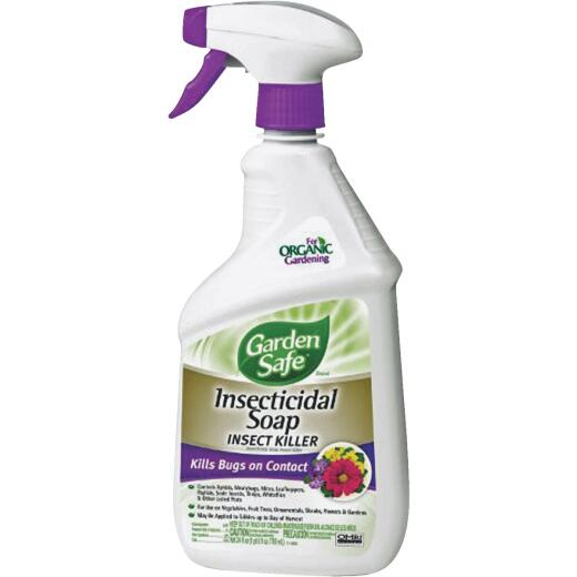 Garden Safe 24 Oz. Ready To Use Trigger Spray Insecticidal Soap Insect Killer