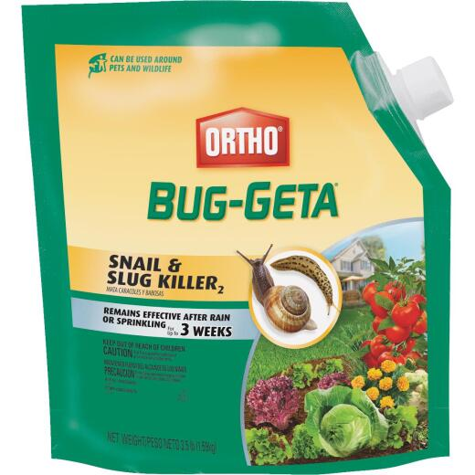 Ortho Bug-Geta 3-1/2 Lb. Ready To Use Pellets Slug & Snail Killer