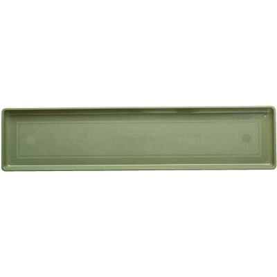 Novelty 26-3/8 In. Sage Plastic Flower Box Tray