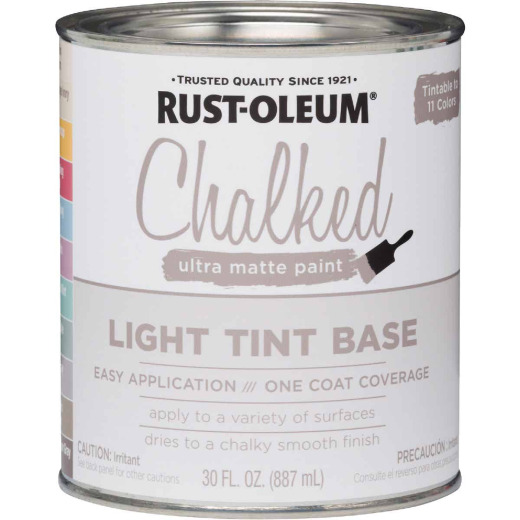 Rust-Oleum Chalked Light Tint Ultra Matte 29 Oz. Chalk Paint